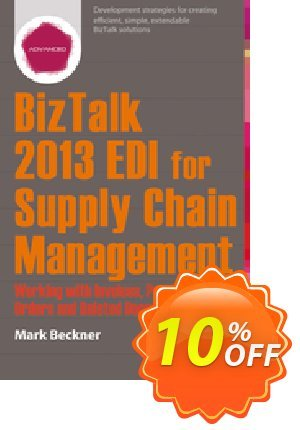 BizTalk 2013 EDI for Supply Chain Management (Beckner) discount coupon BizTalk 2013 EDI for Supply Chain Management (Beckner) Deal - BizTalk 2013 EDI for Supply Chain Management (Beckner) Exclusive Easter Sale offer for iVoicesoft