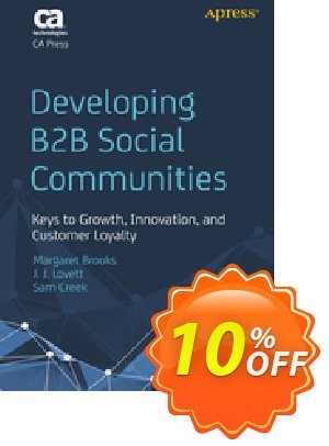 Developing B2B Social Communities (Brooks) discount coupon Developing B2B Social Communities (Brooks) Deal - Developing B2B Social Communities (Brooks) Exclusive Easter Sale offer for iVoicesoft