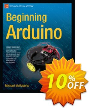 Beginning Arduino (McRoberts) 프로모션 코드 Beginning Arduino (McRoberts) Deal 프로모션: Beginning Arduino (McRoberts) Exclusive Easter Sale offer for iVoicesoft
