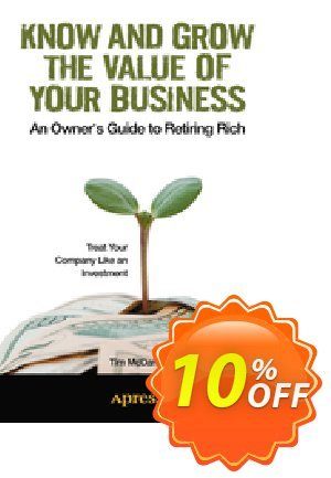 Know and Grow the Value of Your Business (McDaniel) discount coupon Know and Grow the Value of Your Business (McDaniel) Deal - Know and Grow the Value of Your Business (McDaniel) Exclusive Easter Sale offer for iVoicesoft