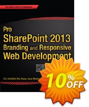 Pro SharePoint 2013 Branding and Responsive Web Development (Medina) discount coupon Pro SharePoint 2013 Branding and Responsive Web Development (Medina) Deal - Pro SharePoint 2013 Branding and Responsive Web Development (Medina) Exclusive Easter Sale offer for iVoicesoft