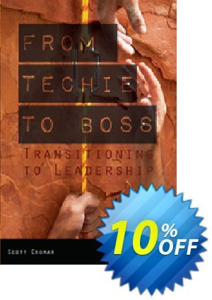 From Techie to Boss (Cromar) discount coupon From Techie to Boss (Cromar) Deal - From Techie to Boss (Cromar) Exclusive Easter Sale offer for iVoicesoft
