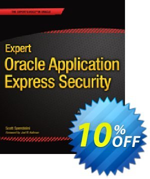 Expert Oracle Application Express Security (Spendolini) 優惠券,折扣碼 Expert Oracle Application Express Security (Spendolini) Deal,促銷代碼: Expert Oracle Application Express Security (Spendolini) Exclusive Easter Sale offer for iVoicesoft