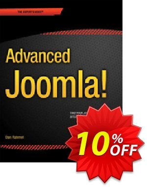 Advanced Joomla! (Rahmel) discount coupon Advanced Joomla! (Rahmel) Deal - Advanced Joomla! (Rahmel) Exclusive Easter Sale offer for iVoicesoft