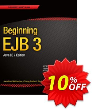 Beginning EJB 3 (Wetherbee) Coupon discount Beginning EJB 3 (Wetherbee) Deal. Promotion: Beginning EJB 3 (Wetherbee) Exclusive Easter Sale offer for iVoicesoft