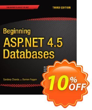Beginning ASP.NET 4.5 Databases (Chanda) discount coupon Beginning ASP.NET 4.5 Databases (Chanda) Deal - Beginning ASP.NET 4.5 Databases (Chanda) Exclusive Easter Sale offer for iVoicesoft