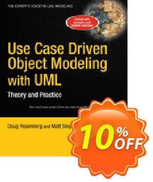 Use Case Driven Object Modeling with UML (Rosenberg) discount coupon Use Case Driven Object Modeling with UML (Rosenberg) Deal - Use Case Driven Object Modeling with UML (Rosenberg) Exclusive Easter Sale offer for iVoicesoft