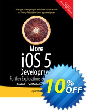 More iOS 6 Development (Mark) discount coupon More iOS 6 Development (Mark) Deal - More iOS 6 Development (Mark) Exclusive Easter Sale offer for iVoicesoft