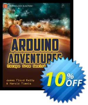 Arduino Adventures (Floyd Kelly) discount coupon Arduino Adventures (Floyd Kelly) Deal - Arduino Adventures (Floyd Kelly) Exclusive Easter Sale offer for iVoicesoft