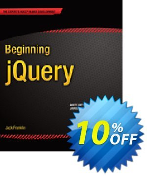 Beginning jQuery (Franklin) 프로모션 코드 Beginning jQuery (Franklin) Deal 프로모션: Beginning jQuery (Franklin) Exclusive Easter Sale offer for iVoicesoft