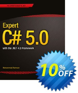 Expert C# 5.0 (Rahman) discount coupon Expert C# 5.0 (Rahman) Deal - Expert C# 5.0 (Rahman) Exclusive Easter Sale offer for iVoicesoft