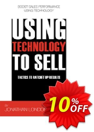 Using Technology to Sell (London) discount coupon Using Technology to Sell (London) Deal - Using Technology to Sell (London) Exclusive Easter Sale offer for iVoicesoft
