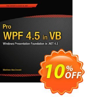 Pro WPF 4.5 in VB (MacDonald) 프로모션 코드 Pro WPF 4.5 in VB (MacDonald) Deal 프로모션: Pro WPF 4.5 in VB (MacDonald) Exclusive Easter Sale offer for iVoicesoft