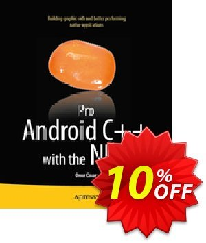 Pro Android C++ with the NDK (Cinar) discount coupon Pro Android C++ with the NDK (Cinar) Deal - Pro Android C++ with the NDK (Cinar) Exclusive Easter Sale offer for iVoicesoft