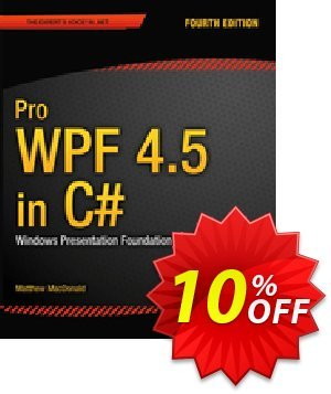 Pro WPF 4.5 in C# (MacDonald) 프로모션 코드 Pro WPF 4.5 in C# (MacDonald) Deal 프로모션: Pro WPF 4.5 in C# (MacDonald) Exclusive Easter Sale offer for iVoicesoft