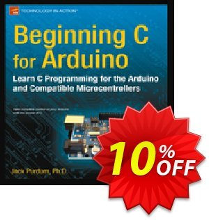 Beginning C for Arduino (Purdum) 優惠券,折扣碼 Beginning C for Arduino (Purdum) Deal,促銷代碼: Beginning C for Arduino (Purdum) Exclusive Easter Sale offer for iVoicesoft