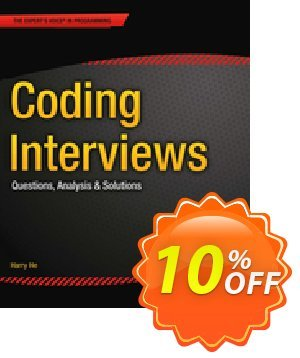 Coding Interviews (He) discount coupon Coding Interviews (He) Deal - Coding Interviews (He) Exclusive Easter Sale offer for iVoicesoft