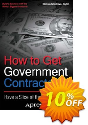 How to Get Government Contracts (Smotrova-Taylor) 프로모션 코드 How to Get Government Contracts (Smotrova-Taylor) Deal 프로모션: How to Get Government Contracts (Smotrova-Taylor) Exclusive Easter Sale offer for iVoicesoft