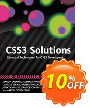 CSS3 Solutions (Casario) discount coupon CSS3 Solutions (Casario) Deal - CSS3 Solutions (Casario) Exclusive Easter Sale offer for iVoicesoft