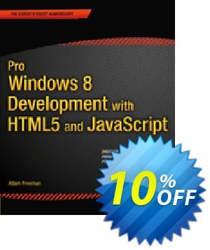 Pro Windows 8 Development with HTML5 and JavaScript (Freeman) discount coupon Pro Windows 8 Development with HTML5 and JavaScript (Freeman) Deal - Pro Windows 8 Development with HTML5 and JavaScript (Freeman) Exclusive Easter Sale offer for iVoicesoft