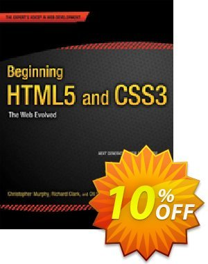 Beginning HTML5 and CSS3 (Murphy) discount coupon Beginning HTML5 and CSS3 (Murphy) Deal - Beginning HTML5 and CSS3 (Murphy) Exclusive Easter Sale offer for iVoicesoft