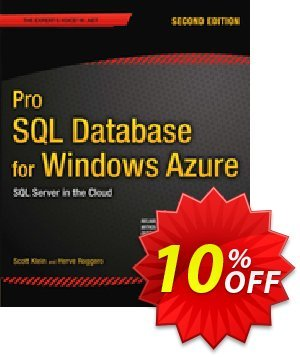 Pro SQL Database for Windows Azure (Klein) discount coupon Pro SQL Database for Windows Azure (Klein) Deal - Pro SQL Database for Windows Azure (Klein) Exclusive Easter Sale offer for iVoicesoft