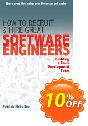 How to Recruit and Hire Great Software Engineers (McCuller) discount coupon How to Recruit and Hire Great Software Engineers (McCuller) Deal - How to Recruit and Hire Great Software Engineers (McCuller) Exclusive Easter Sale offer for iVoicesoft
