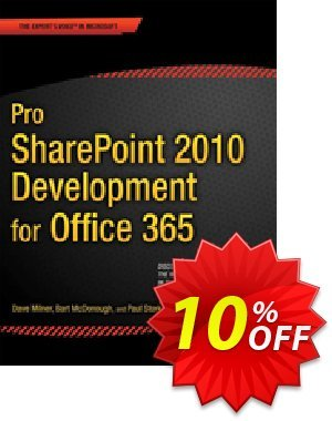 Pro SharePoint 2010 Development for Office 365 (Milner) 프로모션 코드 Pro SharePoint 2010 Development for Office 365 (Milner) Deal 프로모션: Pro SharePoint 2010 Development for Office 365 (Milner) Exclusive Easter Sale offer for iVoicesoft