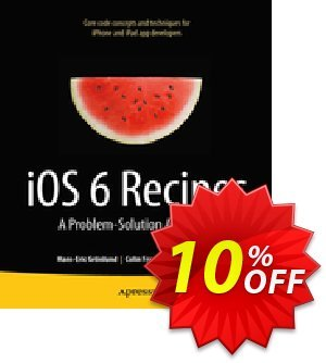 iOS 6 Recipes (Grimes) discount coupon iOS 6 Recipes (Grimes) Deal - iOS 6 Recipes (Grimes) Exclusive Easter Sale offer for iVoicesoft