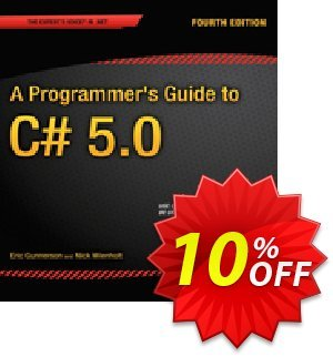 A Programmer's Guide to C# 5.0 (Gunnerson) discount coupon A Programmer's Guide to C# 5.0 (Gunnerson) Deal - A Programmer's Guide to C# 5.0 (Gunnerson) Exclusive Easter Sale offer for iVoicesoft
