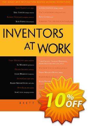 Inventors at Work (Stern) discount coupon Inventors at Work (Stern) Deal - Inventors at Work (Stern) Exclusive Easter Sale offer for iVoicesoft
