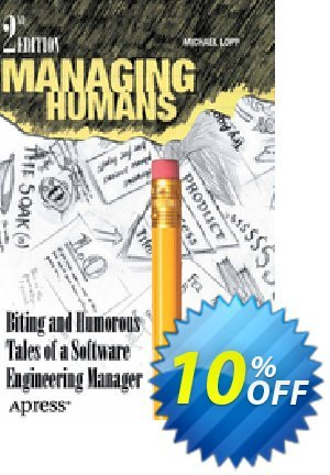 Managing Humans (Lopp) discount coupon Managing Humans (Lopp) Deal - Managing Humans (Lopp) Exclusive Easter Sale offer for iVoicesoft