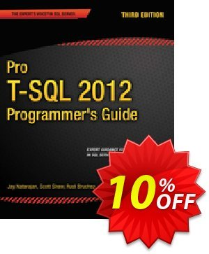 Pro T-SQL 2012 Programmer's Guide (Coles) discount coupon Pro T-SQL 2012 Programmer's Guide (Coles) Deal - Pro T-SQL 2012 Programmer's Guide (Coles) Exclusive Easter Sale offer for iVoicesoft