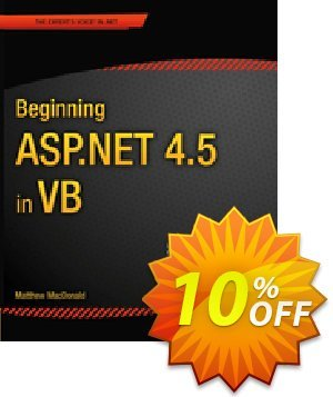 Beginning ASP.NET 4.5 in VB (MacDonald) discount coupon Beginning ASP.NET 4.5 in VB (MacDonald) Deal - Beginning ASP.NET 4.5 in VB (MacDonald) Exclusive Easter Sale offer for iVoicesoft