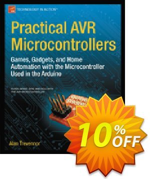 Practical AVR Microcontrollers (Trevennor) discount coupon Practical AVR Microcontrollers (Trevennor) Deal - Practical AVR Microcontrollers (Trevennor) Exclusive Easter Sale offer for iVoicesoft