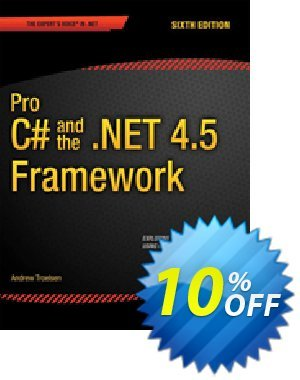 Pro C# 5.0 and the .NET 4.5 Framework (Troelsen) discount coupon Pro C# 5.0 and the .NET 4.5 Framework (Troelsen) Deal - Pro C# 5.0 and the .NET 4.5 Framework (Troelsen) Exclusive Easter Sale offer for iVoicesoft