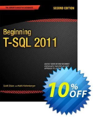 Beginning T-SQL 2012 (Kellenberger) discount coupon Beginning T-SQL 2012 (Kellenberger) Deal - Beginning T-SQL 2012 (Kellenberger) Exclusive Easter Sale offer for iVoicesoft