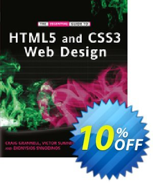 The Essential Guide to HTML5 and CSS3 Web Design (Grannell) 優惠券,折扣碼 The Essential Guide to HTML5 and CSS3 Web Design (Grannell) Deal,促銷代碼: The Essential Guide to HTML5 and CSS3 Web Design (Grannell) Exclusive Easter Sale offer for iVoicesoft