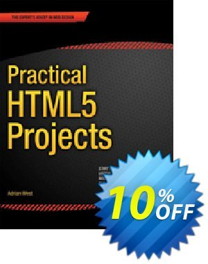 Practical HTML5 Projects (West) discount coupon Practical HTML5 Projects (West) Deal - Practical HTML5 Projects (West) Exclusive Easter Sale offer for iVoicesoft