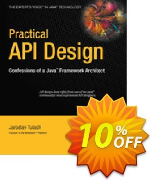 Practical API Design (Tulach) discount coupon Practical API Design (Tulach) Deal - Practical API Design (Tulach) Exclusive Easter Sale offer for iVoicesoft