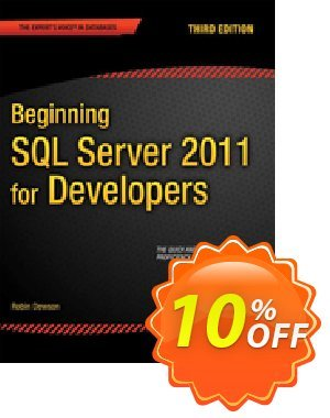 Beginning SQL Server 2012 for Developers (Dewson) discount coupon Beginning SQL Server 2012 for Developers (Dewson) Deal - Beginning SQL Server 2012 for Developers (Dewson) Exclusive Easter Sale offer for iVoicesoft