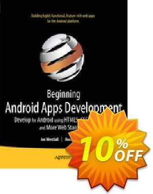 Beginning Android Web Apps Development (Westfall) discount coupon Beginning Android Web Apps Development (Westfall) Deal - Beginning Android Web Apps Development (Westfall) Exclusive Easter Sale offer for iVoicesoft