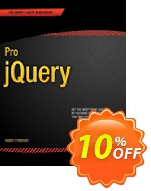 Pro jQuery (Freeman) discount coupon Pro jQuery (Freeman) Deal - Pro jQuery (Freeman) Exclusive Easter Sale offer for iVoicesoft