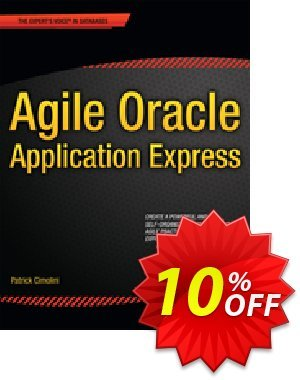 Agile Oracle Application Express (Cimolini) 프로모션 코드 Agile Oracle Application Express (Cimolini) Deal 프로모션: Agile Oracle Application Express (Cimolini) Exclusive Easter Sale offer for iVoicesoft