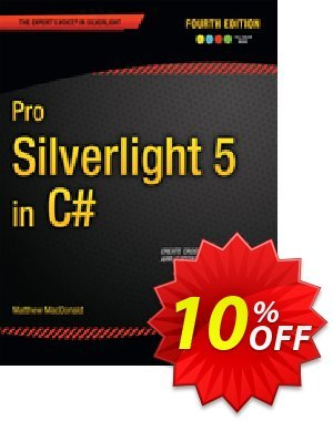 Pro Silverlight 5 in C# (MacDonald) discount coupon Pro Silverlight 5 in C# (MacDonald) Deal - Pro Silverlight 5 in C# (MacDonald) Exclusive Easter Sale offer for iVoicesoft