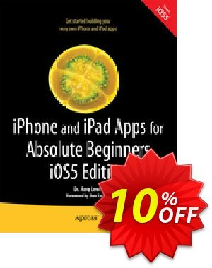 iPhone and iPad Apps for Absolute Beginners, iOS 5 Edition (Lewis) discount coupon iPhone and iPad Apps for Absolute Beginners, iOS 5 Edition (Lewis) Deal - iPhone and iPad Apps for Absolute Beginners, iOS 5 Edition (Lewis) Exclusive Easter Sale offer for iVoicesoft