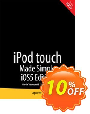 iPod touch Made Simple, iOS 5 Edition (Trautschold) discount coupon iPod touch Made Simple, iOS 5 Edition (Trautschold) Deal - iPod touch Made Simple, iOS 5 Edition (Trautschold) Exclusive Easter Sale offer for iVoicesoft