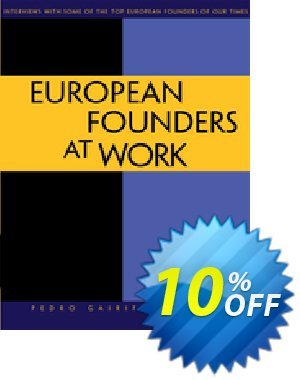 European Founders at Work (Santos) discount coupon European Founders at Work (Santos) Deal - European Founders at Work (Santos) Exclusive Easter Sale offer for iVoicesoft