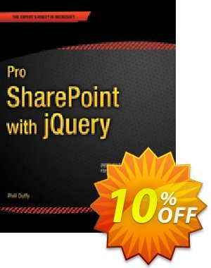 Pro SharePoint with jQuery (Duffy) discount coupon Pro SharePoint with jQuery (Duffy) Deal - Pro SharePoint with jQuery (Duffy) Exclusive Easter Sale offer for iVoicesoft