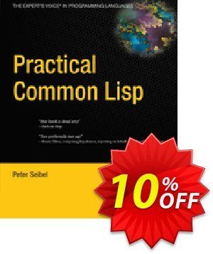 Practical Common Lisp (Seibel) discount coupon Practical Common Lisp (Seibel) Deal - Practical Common Lisp (Seibel) Exclusive Easter Sale offer for iVoicesoft